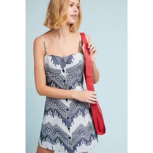 Anthropologie NAOMI PRINTED DRESS new